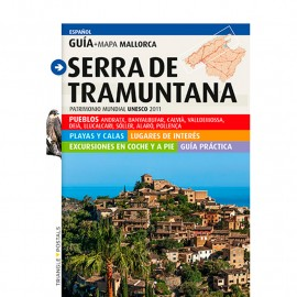 Guide-map TRIANGLE Serra de Tramuntana (Spanish)