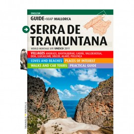 Guide-map TRIANGLE Serra de Tramuntana (English)