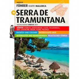 Guide-map TRIANGLE Serra de Tramuntana (German)