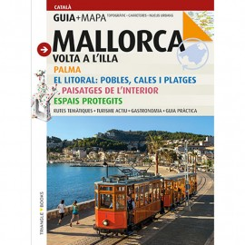 Guide-tourist map Mallorca TRIANGLE (Catalan)