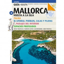 Guide-tourist map Mallorca TRIANGLE (Spanish)
