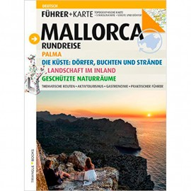 Guide-tourist map Mallorca TRIANGLE (German)