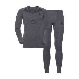 ODLO SET PERFORMANCE LIGHT GREY
