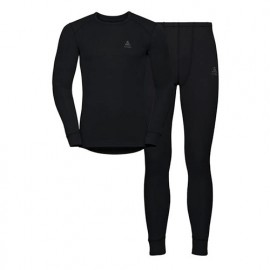 ODLO SET ACTIVE WARM BLACK