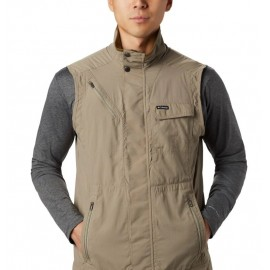 COLUMBIA SILVER RIDGE II VEST GREEN
