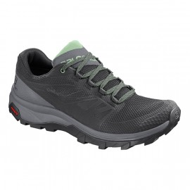 SALOMON OUTLINE GTX W BLACKQUIETSHADESPRUCESTON