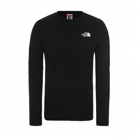 The North Face M L/S RED BOX TEE TNF BLACK