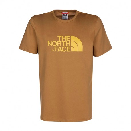 The North Face M S/S EASY TEE FIERY RED/TNF BLACK