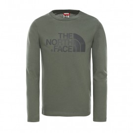 The North Face Y EASY L/S TEE THYME
