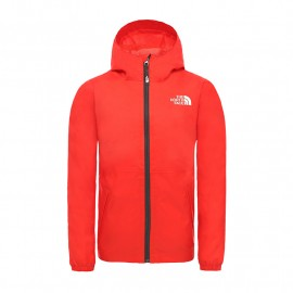 The North Face Y ZIPLINE JACKET FIERY RED