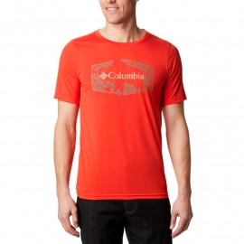 COLUMBIA TERRA VALE II SS TEE ORANGE