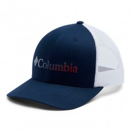COLUMBIA COLUMBIA MESH SNAP BACK HAT BLUE