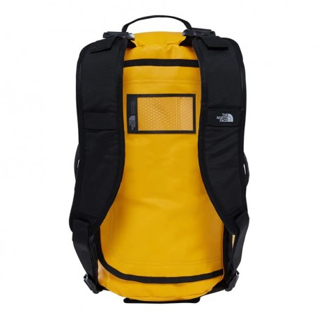 The North Face BASE CAMP DUFFEL - XS SUMMIT GOLD/TNF BLACK