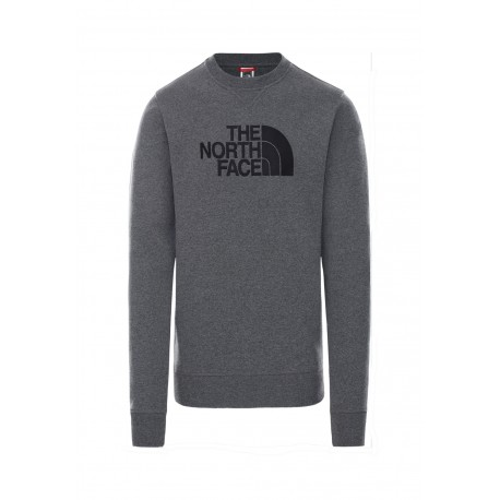The North Face M DREW PEAK CREW TNF WHITE/TNF BLACK