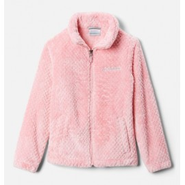 COLUMBIA FIRE SIDE SHERPA FULL ZIP PINK ORCHID