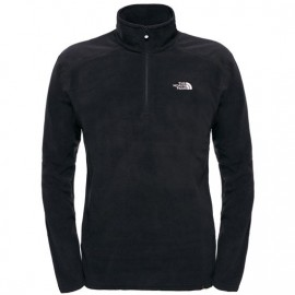 The North Face M 100 GLACIER 1/4 ZIP NEW TAUPE GREEN