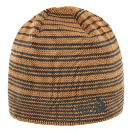 The North Face BONES RECYCLED BEANIE CEDAR BROWN/ASPHALT GREY