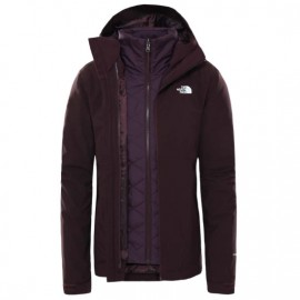 The North Face W CARTO TRICLIMATE JACKET ROOT BROWN