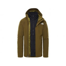The North Face M CARTO TRICLIMATE JACKET FIR GREEN/TNF BLACK