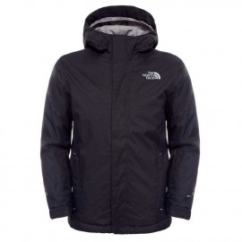 The North Face Y SNOWQUEST JACKET TNF BLACK/TNF WHITE