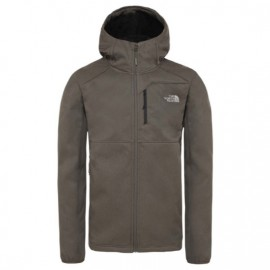 The North Face M QUEST HOODED SOFTSHELL TNF BLACK/TNF BLACK