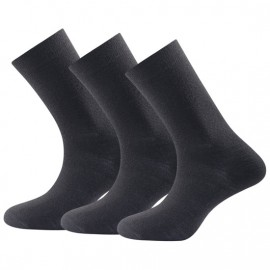 DEVOLD DAILY MEDIUM SOCK BLACK