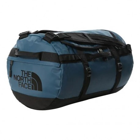The North Face BASE CAMP DUFFEL - S MONTEREY BLUE-TNF BLACK