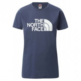 The North Face W S/S EASY TEE VINTAGEWHITE-MONTEREYBLUE