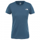 The North Face W REAXION AMP CREW - EU BLUE WING TEAL HEATHER