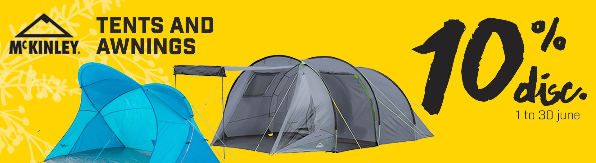 Shelter tents sales 10%